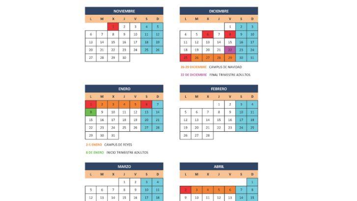 calendario 2018/2018 escuela padel norte, vitoria-gasteiz
