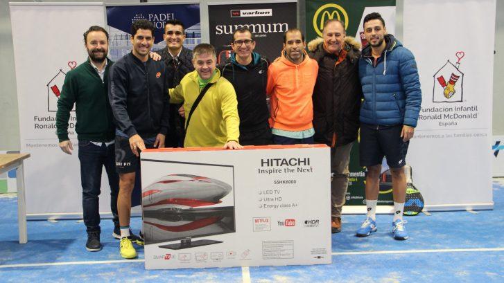 Torneo benéfico de Padel Mc Donals Vitoria Gasteiz
